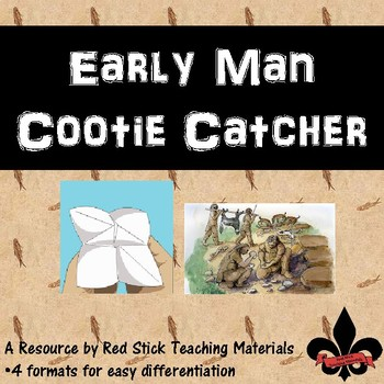 Early Man Cootie Catcher
