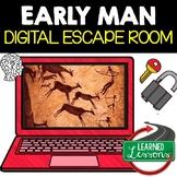 Early Man Digital Escape Room, Early Man Breakout Room Test Prep