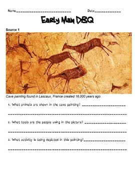 Early Man Document Based Analysis