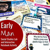 Early Man (Hominid) Interactive Notebook Activity and Soci
