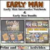 Early Man Interactive Notebook and Resource Bundle