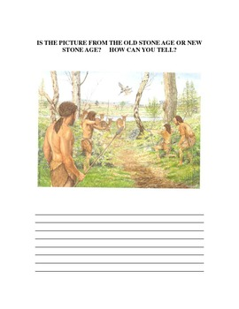 Early Man/ Is it the Old Stone Age or the New Stone Age