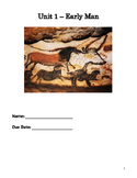 Early Man Unit Pack - Notes & PPT