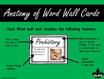 Early Man Word Wall