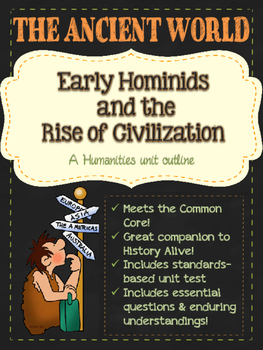 Early Man & the Rise of Civilizations: A Humanities Unit Outline on Mesopotamia