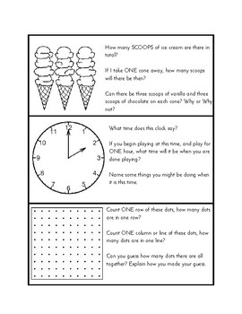 Early Math Concepts - Problem Solving