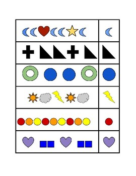 Early Math Concepts - Seriation, Ordering, Sequencing, Patterning