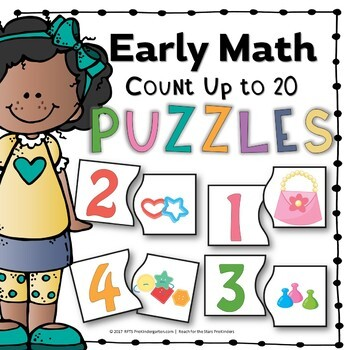 Early Math Counting Puzzles