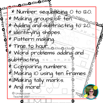 Early Math Skill Builders