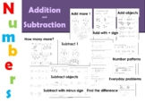 Early Maths Worksheets: Beginning Addition and Subtraction