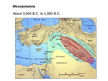 Early Mesopotamian Civilizations - Part I and II