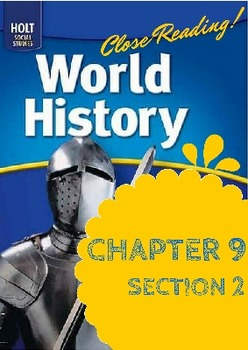 """Middle Ages Holt World History Ch. 9 Sec. 2 """"Europe after the Fall of Rome"""""""