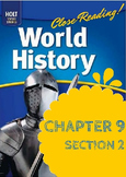 "Middle Ages Holt World History Ch. 9 Sec. 2 ""Europe after"
