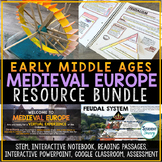 Early Middle Ages - Medieval Europe Activities Resource Bundle