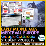 Early Middle Ages - Medieval Europe Google Classroom Projects