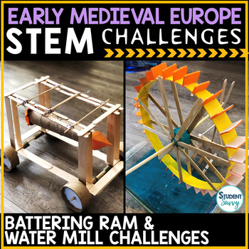 Early Middle Ages - Medieval Europe STEM Challenges