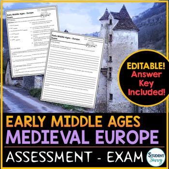 Middle Ages Examinations Quizzes Teachers Pay Teachers