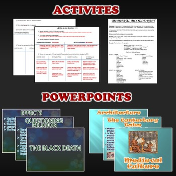 Middle Ages Activity *Bundle* (World History) Early to High Middle Ages