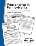 Early Missionaries in PA - French Missionaries, Story of Fr. Gallitzin