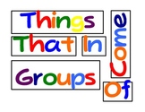 Early Multiplication Strategies: Things That Come In Groups Of...