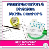 3rd Grade Multiplication and Division Math Centers Bundle