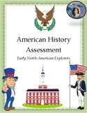 Early North American Explorers Assessment - 4th and 5th Lo
