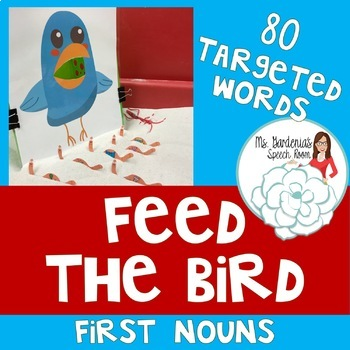 Early Nouns Vocabulary Feed the Bird