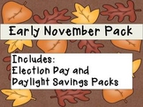 Early November SUPER Pack, includes Election Day and Dayli