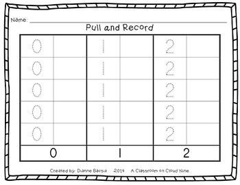 Early Number Activities {Working with Numbers 0, 1, 2}