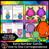 Early Number Games - One to One Correspondence