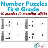 Number Puzzles Bundle Grade 1 Addition Subtraction Telling