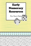 Early Number Resources- Starter Kit