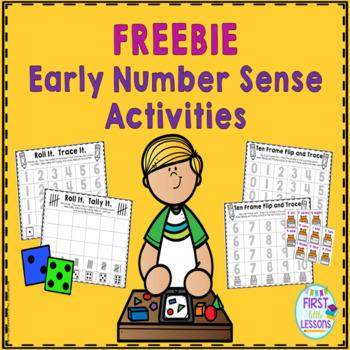 Early Number Sense Activities FREEBIE