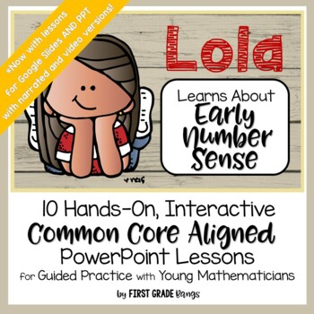 Early Number Sense Common Core Math Lessons (Kinder and Fi
