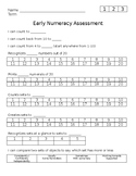 Early Numeracy Assessment