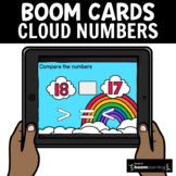 Early Numeracy: Number Comparison 30 Boom Cards for Distan