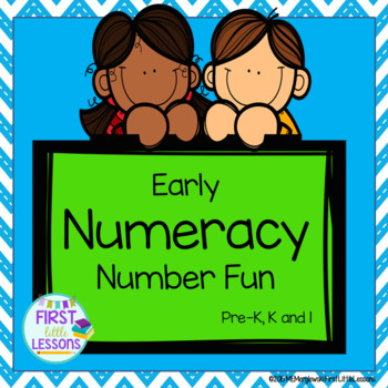 Early Numeracy Number Fun Pre-K K and 1st