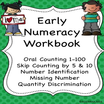 Early Numeracy Workbook (Progress monitor special education)