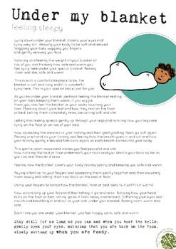 Early Nurture in Mind Guided Meditation 'Under my Blanket'