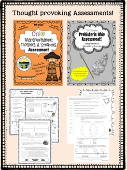 Early Ohio Social Studies Activity Bundle (4th Grade)
