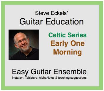 Early One Morning - Celtic Guitar Ensemble, Guitar Trio