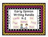 Early Opinion Writing Bundle
