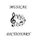 Early Orchestra Music Dictionary