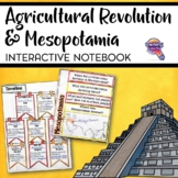 Early People & Mesopotamia Interactive Notebook Unit 6th Grade INB