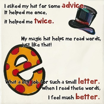 Phonics: My Magic Hat Rules #1