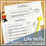 Life Skills Rubric and Recipes