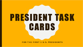 Early President Task Cards
