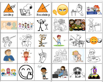 Core Competencies - Early Primary Communication Sort