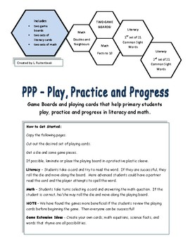 Early Primary Reading and Math Games