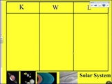 Early Primary Solar System Smartboard Lesson